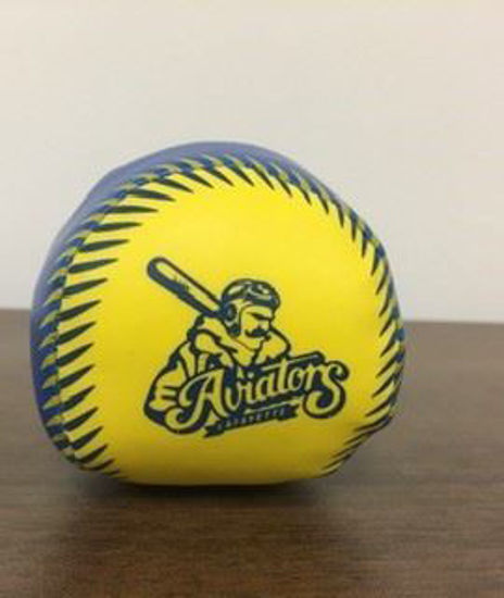 Picture of Blue and Yellow Softee Ball