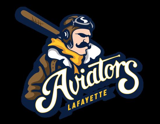 Picture of Aviators Primary Logo - Navy Shirt