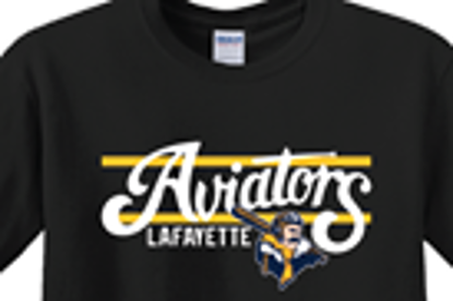 Picture of Aviators Gold Bar Design - Navy