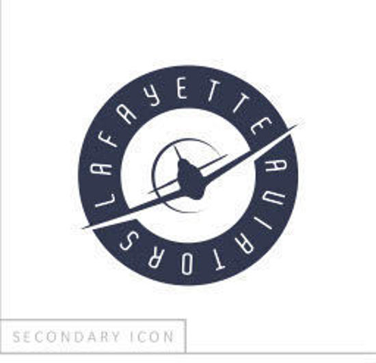 Picture of Youth - Navy Airplane Logo - Yellow Shirt